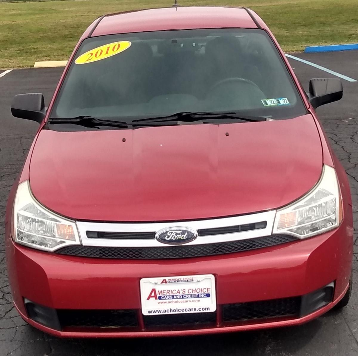 2010 Ford Focus Red