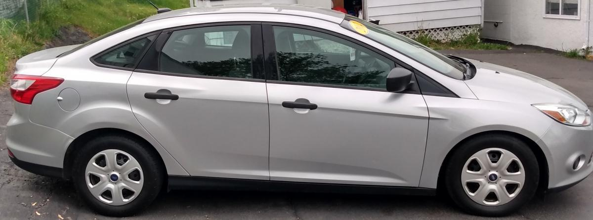 2012 Ford Focus Silver