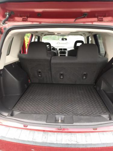2008 Jeep Patriot Red