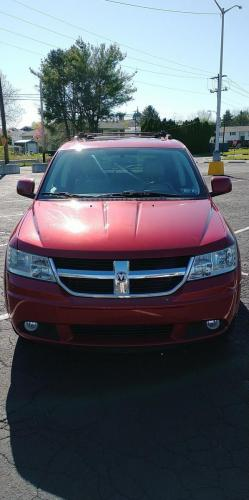 2010 Dodge Journey Maroon