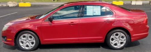 2010 Ford Fusion Red