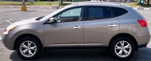 2010 Nissan Rogue 4x4 Pewter