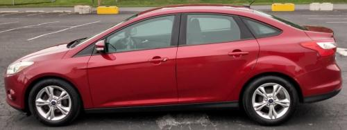 2014 Ford Focus Red